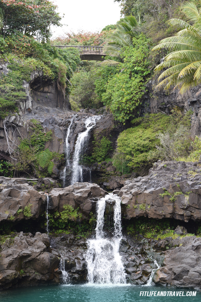 Seven Sacred Pools at Haleakala National Park