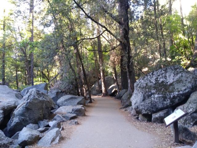 John Muir Trail. An iconic trail at Yosemite National Park, California.