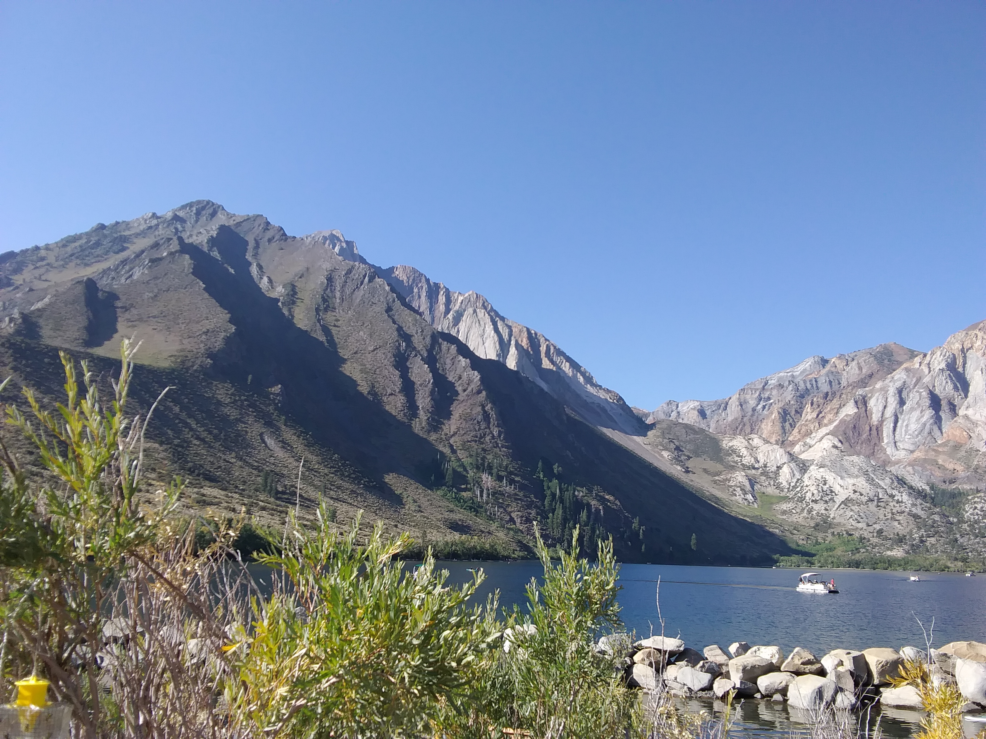 Kayaking on Convict Lake