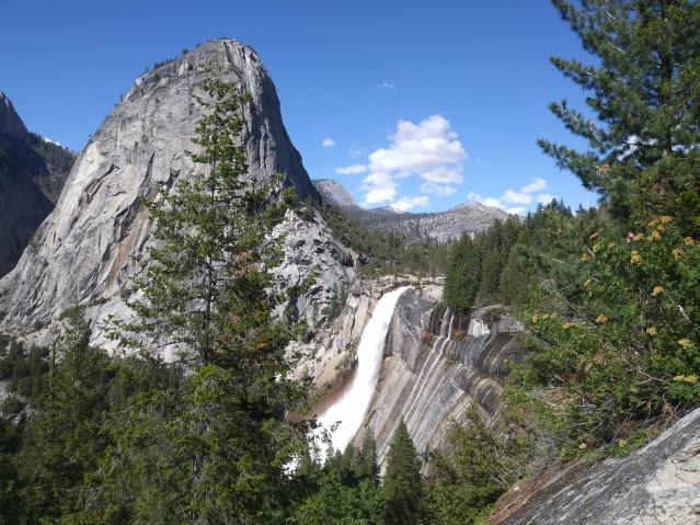 Views from John Muir Trail. Yosemite National Park, California.