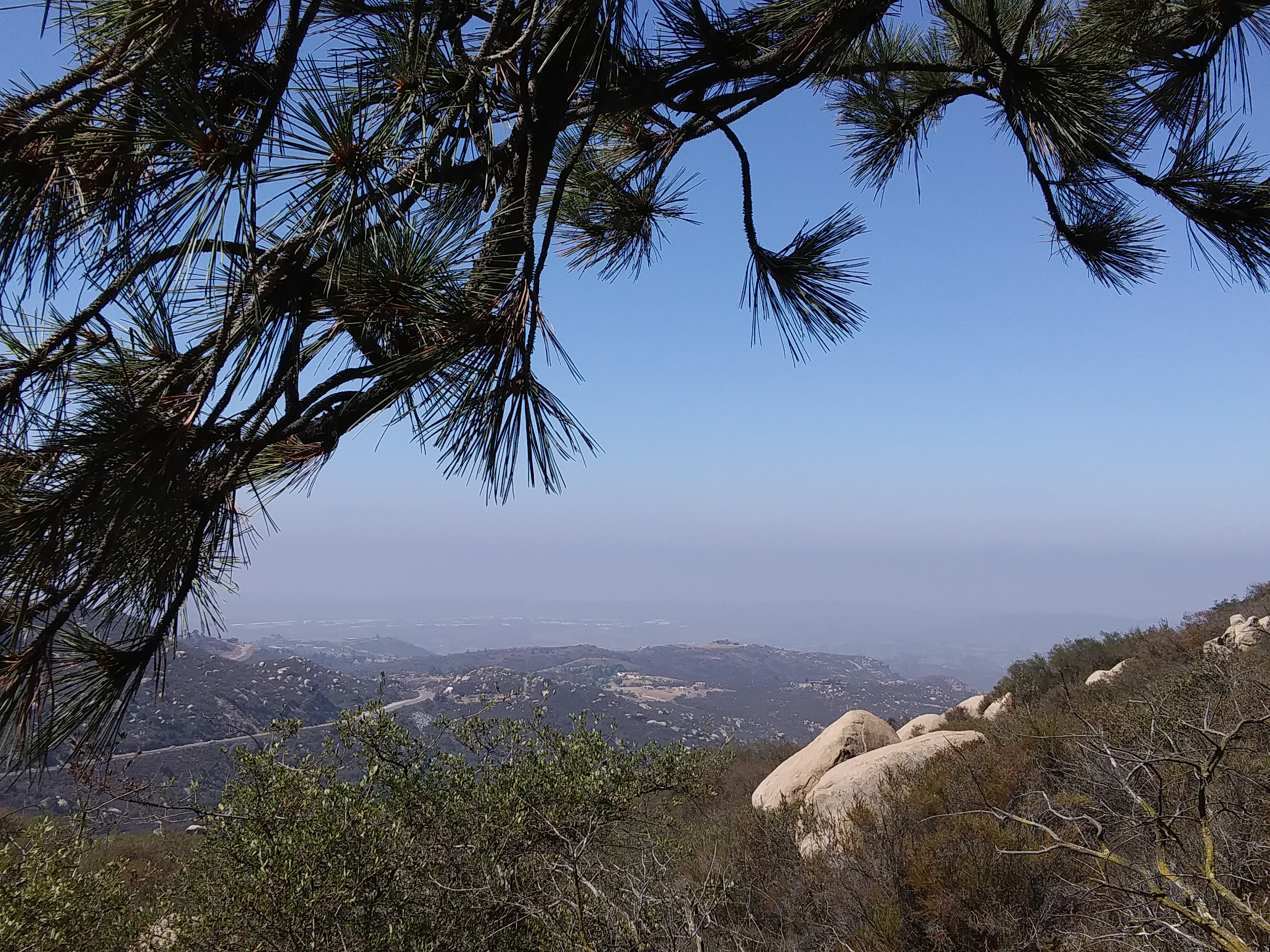 Views from Mount Woodson