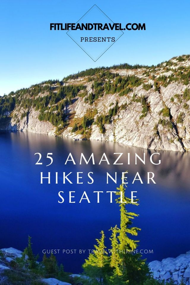 Hiking in Seattle. FitLifeandTravel.com