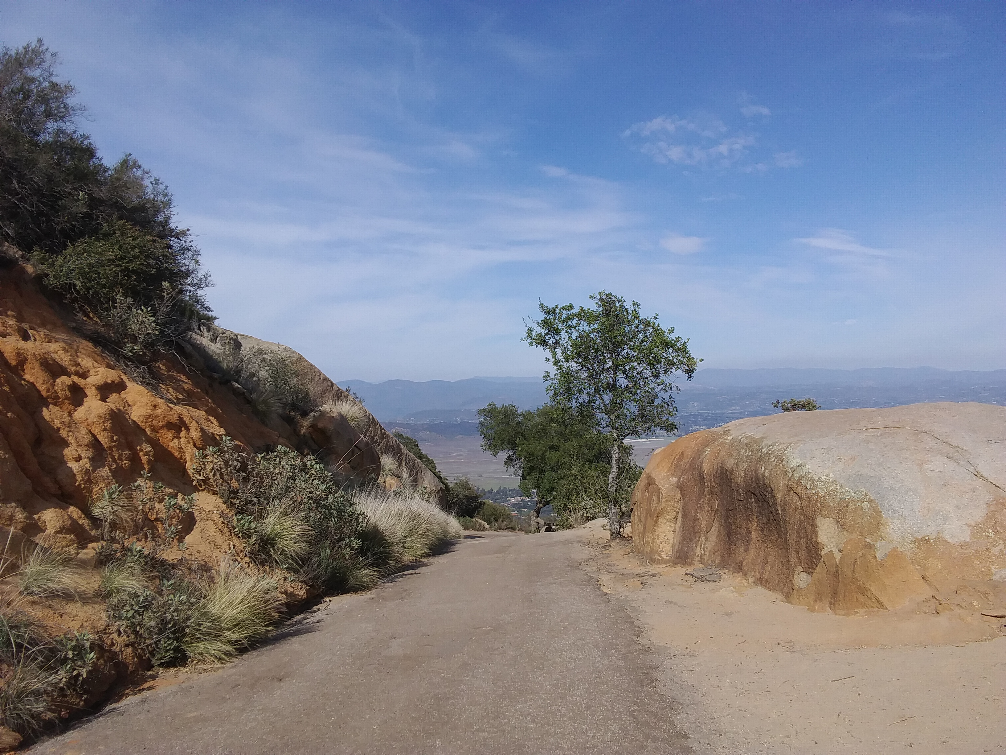 Mt. Woodson Hiking Trail