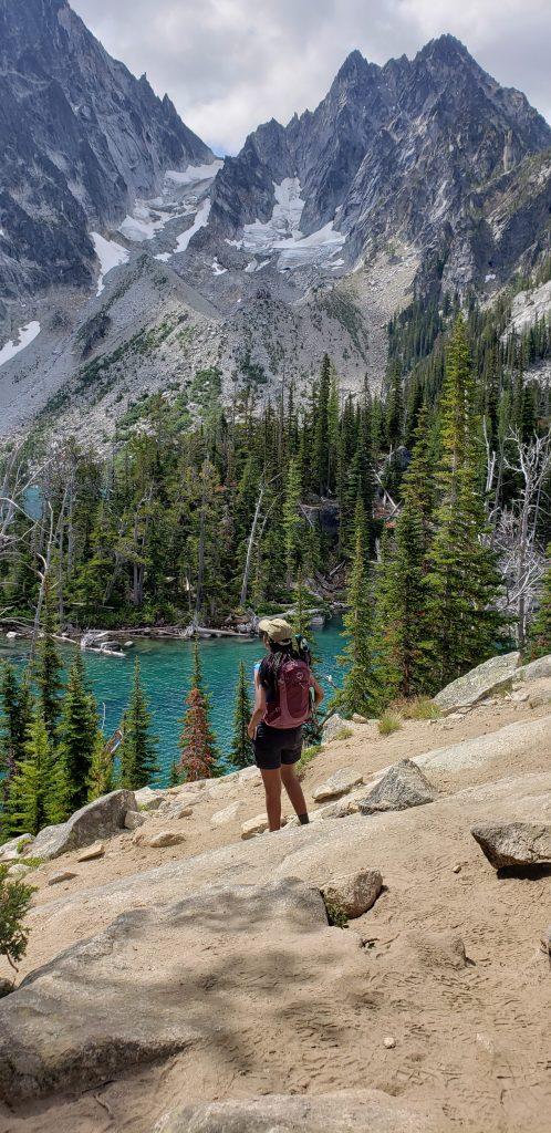 Colchuck Lake. Hiking near Seattle, Washington. FitlifeandTravel.com