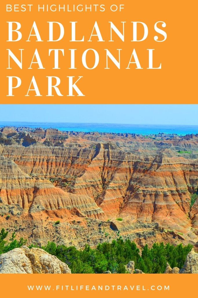 Like it, Pin it. Badlands National Park. South Dakota. FitlifeandTravel.com