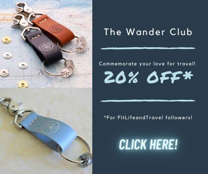 The Wander Club. Wanderchain. FitlifeandTravel.com