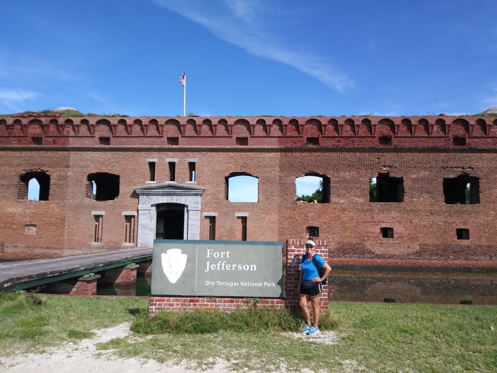 National Park sign, Fort Jefferson.