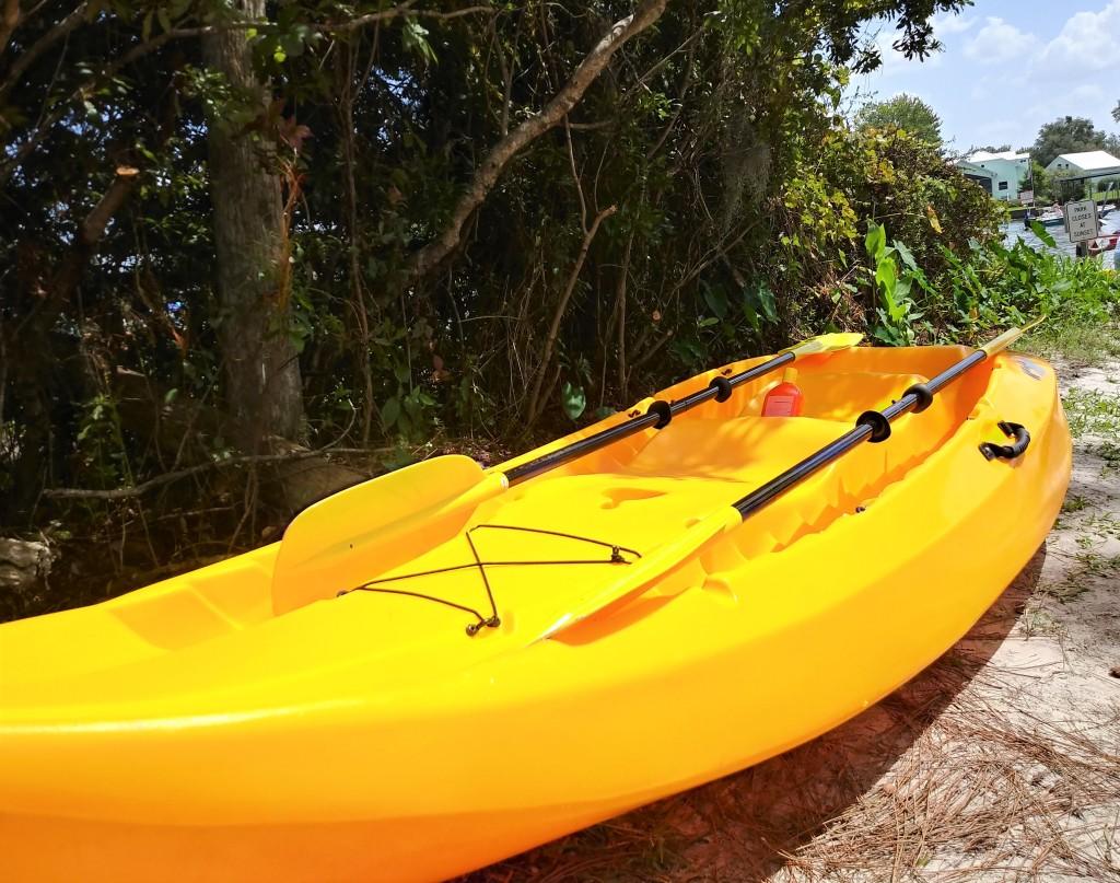 Kayaking at Crystal River, Florida. FitLifeandTravel.com