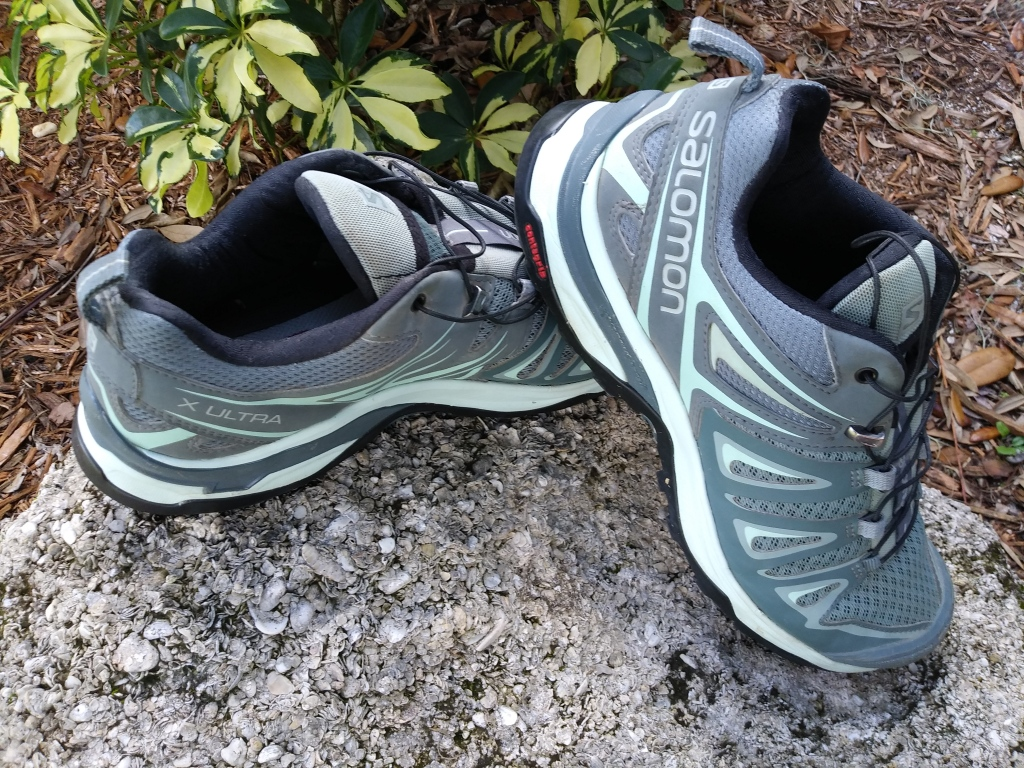 Gift ideas for adventure and travel lovers. Salomon hiking shoes.  FitlifeandTravel.com