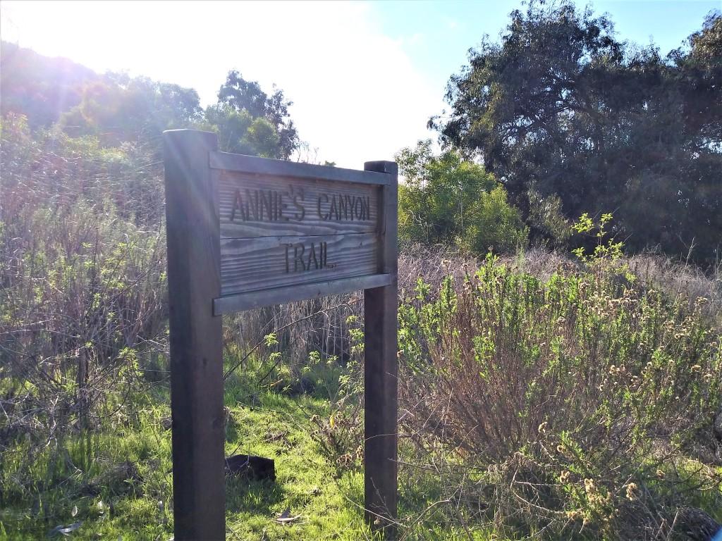 Adventure In Annie's Canyon Trail   San Diego