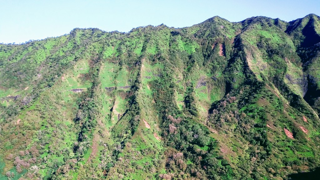 Hawaii ridge. Hiking Moanalua Valley trail. To Stairway to Heaven. Fitlifeandtravel.com