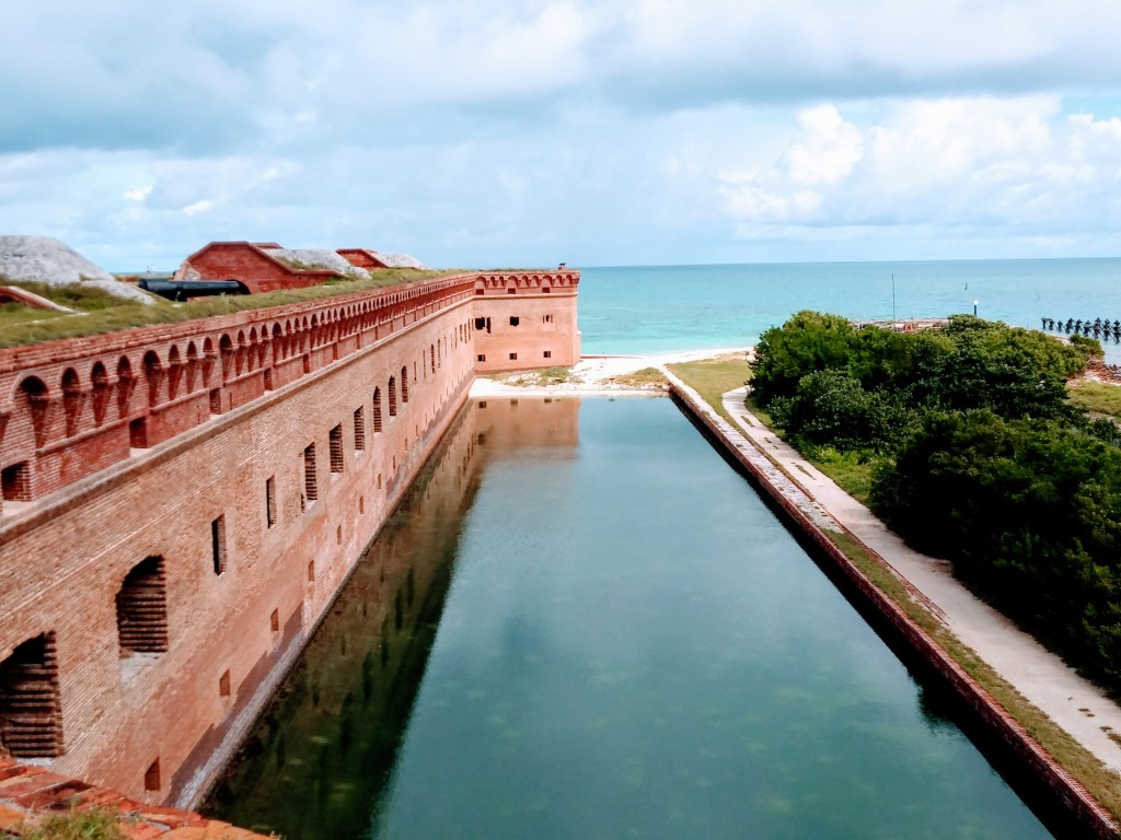 Fort Jefferson at Dry Tortugas National Park, FL.