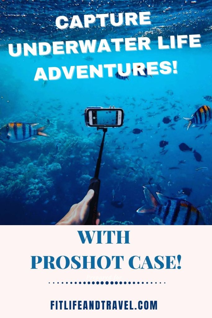 Capture underwater photos with ProShot Case!