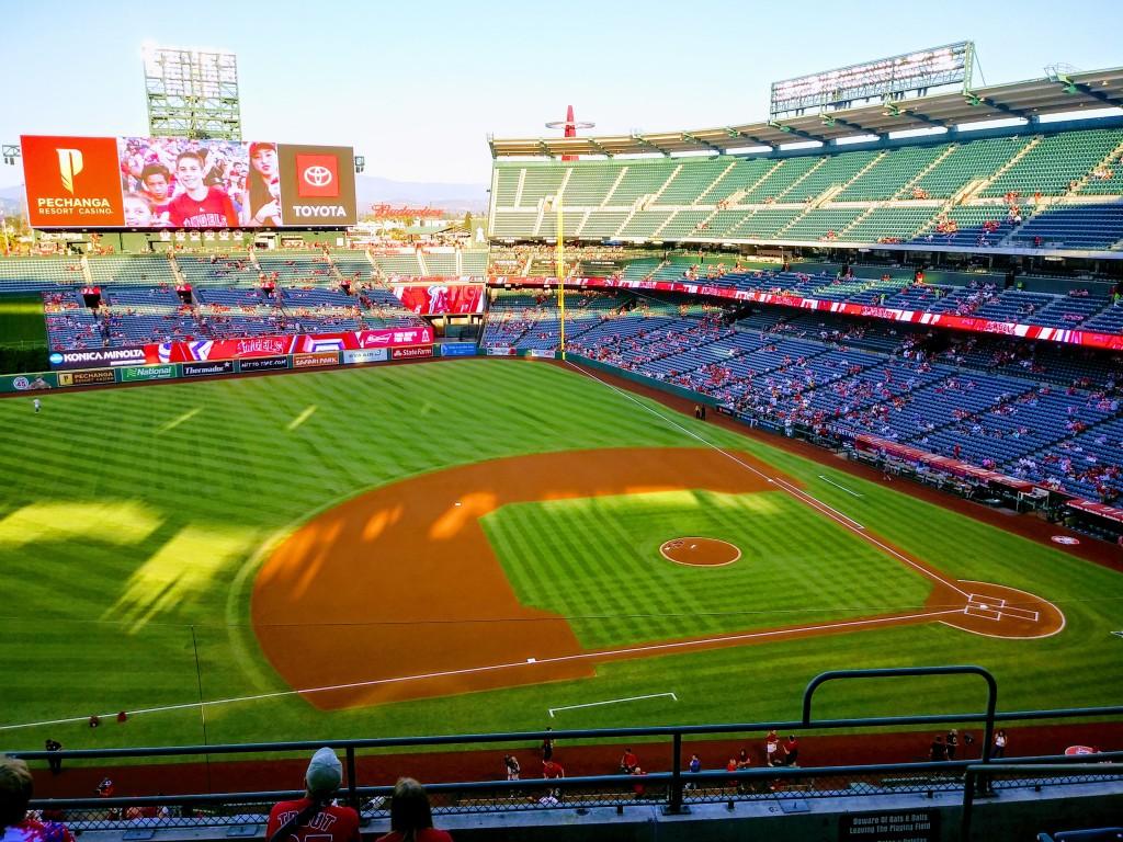 LA Angels. Baseball. FitlifeandTravel.com