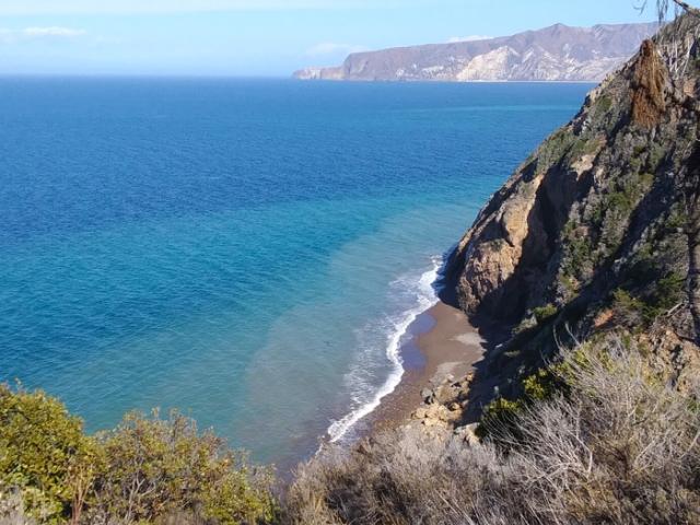 Santa Cruz Island. Channel Islands National Park. California. FitlifeandTravel.com