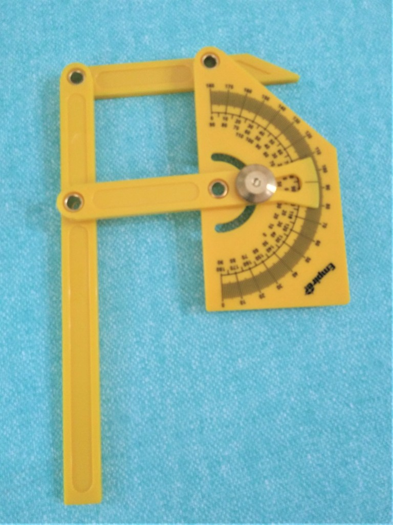 Protractor tool to measure angles. FYI Adventures. FitlifeandTravel.com. How to install engineered wood flooring.