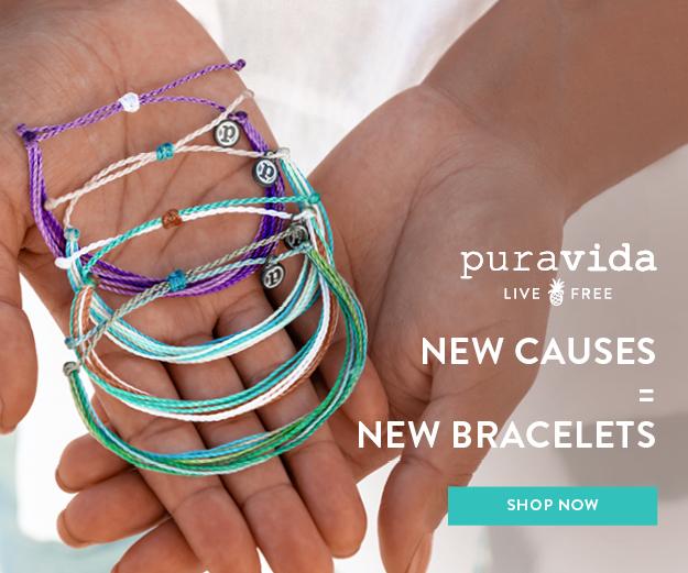 puravida. Bracelets for Charity. FitlifeandTravel.com