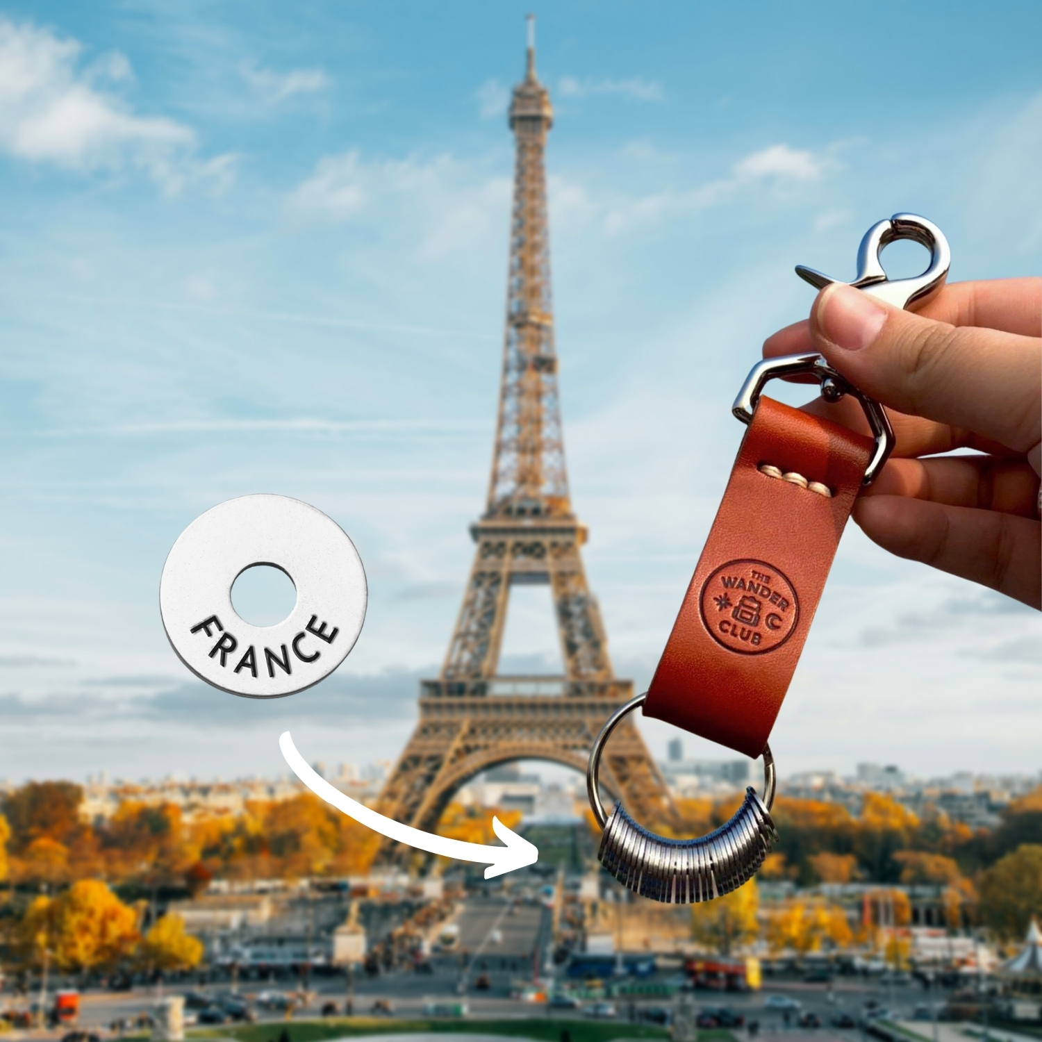 The Wander Club*Gifts For Travel Lovers. Eiffel Tower