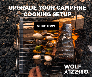 Wolf & Grizzly Camp Grills