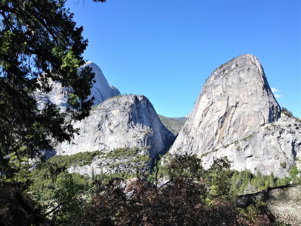 America's best national parks. Yosemite National Park, Nevada Falls, John Muir Trail. FitlifeandTravel.com