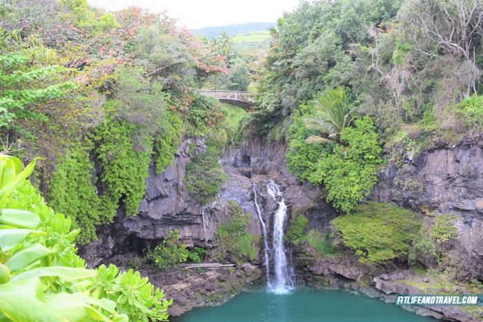 Haleakala National Park. Seven Pools. Road to Hana. Hawaii. FitlifeandTravel.com