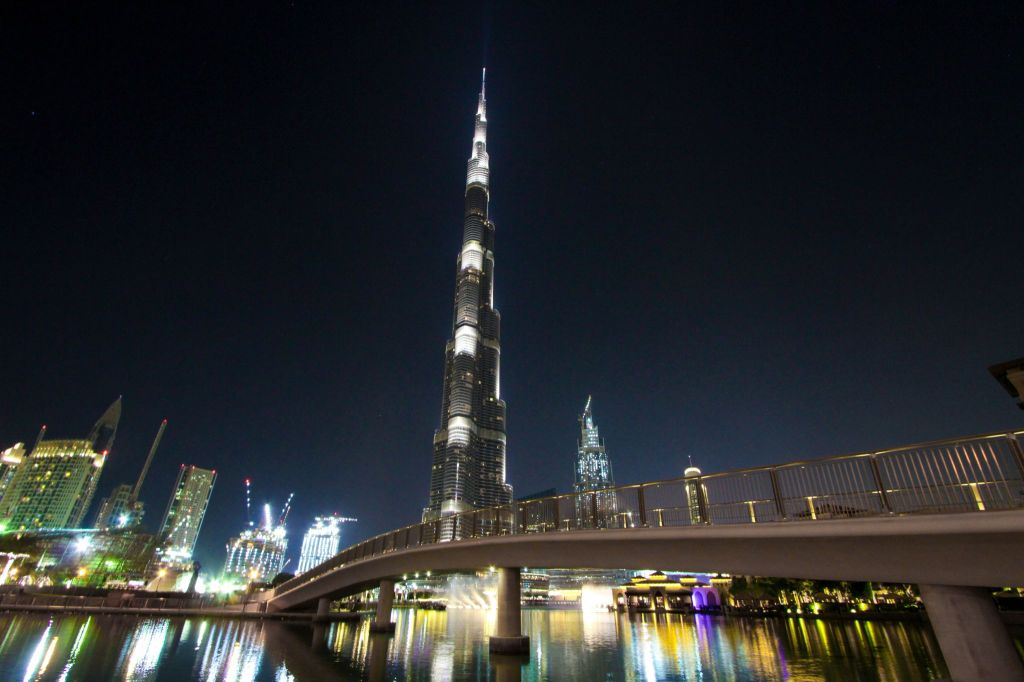Burj Khalifa Dubai. FitLifeandTravel.com