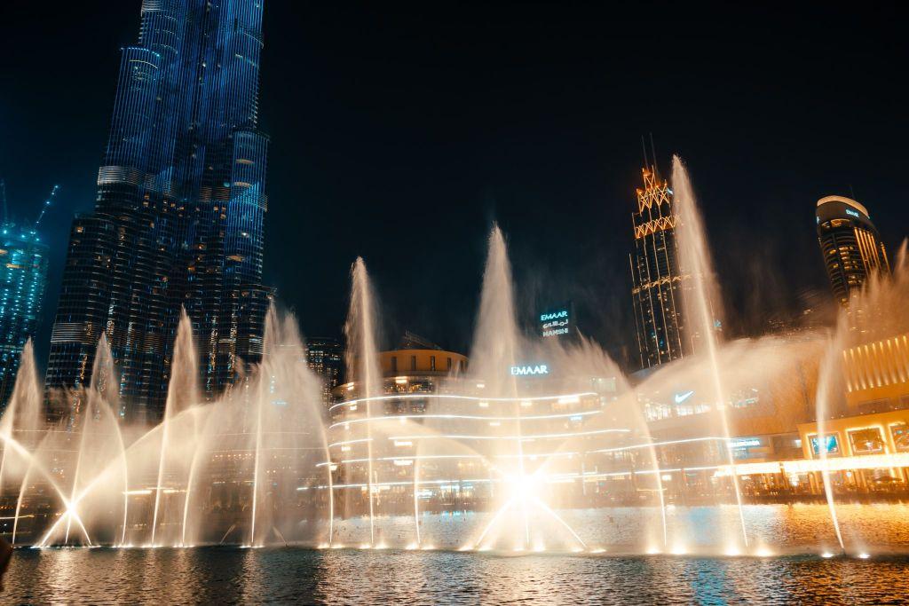 Dubai Fountain. FitlifeandTravel.com