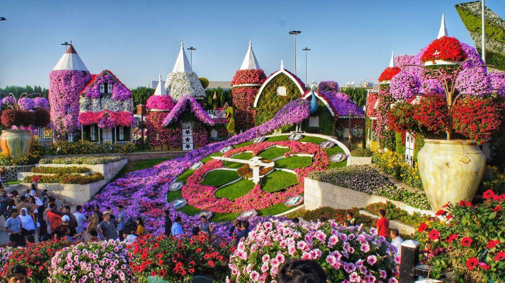 Dubai Miracle Garden. FitlifeandTravel.com