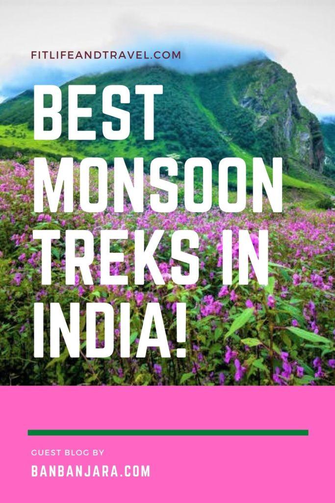 Best Monsoon Hikes in India! BanBanjara.com.  FItlifeandtravel.com