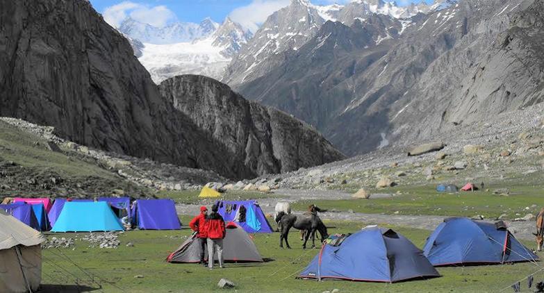 Best India trekking.  Hampta Pass Trek Fitlifeandtravel.com