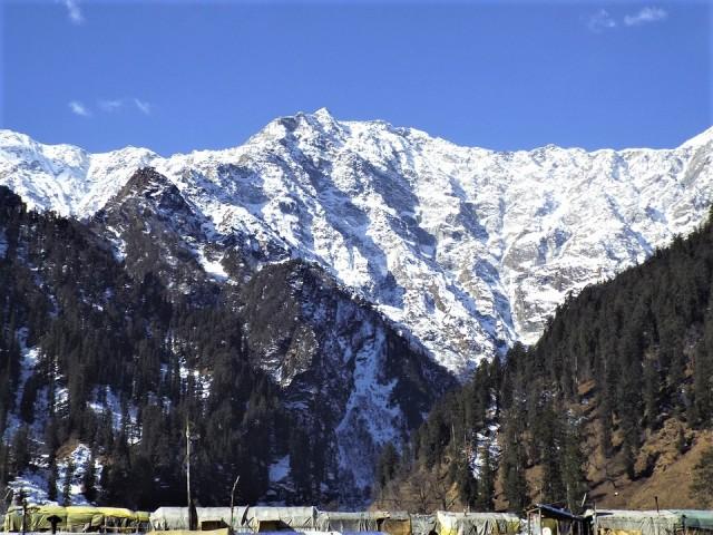 India - Manali town of Himachal Pradesh